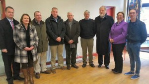 Athea Tidy Towns Members Meeting with Councillors and Representatives from Limerick County Council at the Newcastlewest Area Meeting held in Athea on Wednesday last.