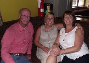 Athea Parish Festival committee members John Redmond, Carol O'Connor and Helen O'Connor at the Going Strong Summer party on Wednesday last