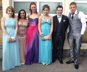 Ciara O'Connell, Maureen Daly O'Flaherty, Molly Rowlands, Hannah Kelly, Jack Denihan & Joey Kelly at the Tarbert Debs recently