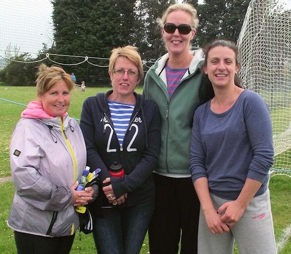Liz Flynn, Helen Twomey, Gráinne Ahern & Tina Collins at the recent schools blitz