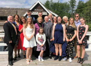 The fgamily of Noreen and Domhnall Barry of Cratloe gathered in Copenhagen for granddaughter Mia's Confirmation